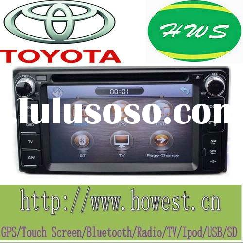 6.2 inch 2 din special Car DVD GPS for Toyota Corolla,bluetooth,video