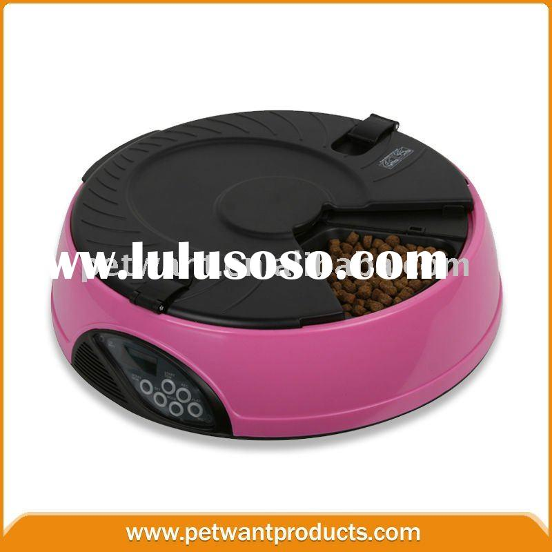 6 Compartment LCD Automatic Pet Feeder Auto Dog Feeder