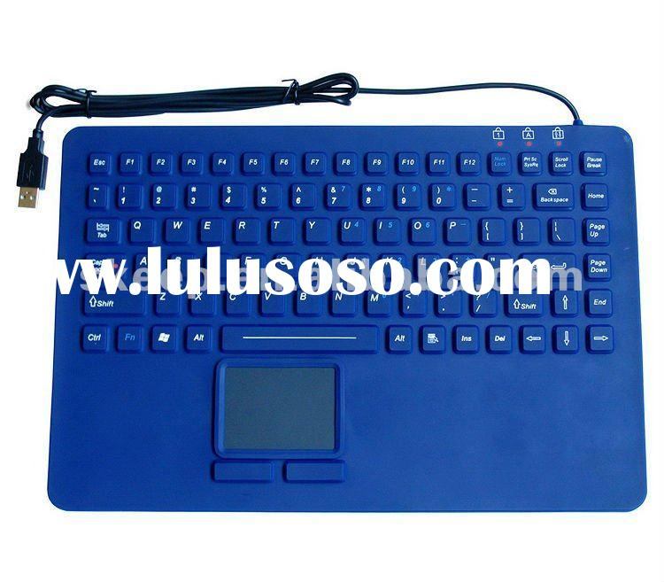 87keys Industrial/medical keyboard with touchpad