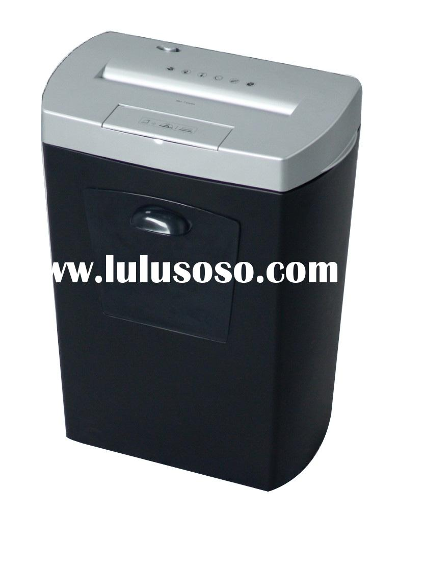 paper shredder price Enter your model number to make sure this fits cross-cut paper shredder with 6-sheet capacity destroys credit cards (one at a time) shreded paper measures 7.