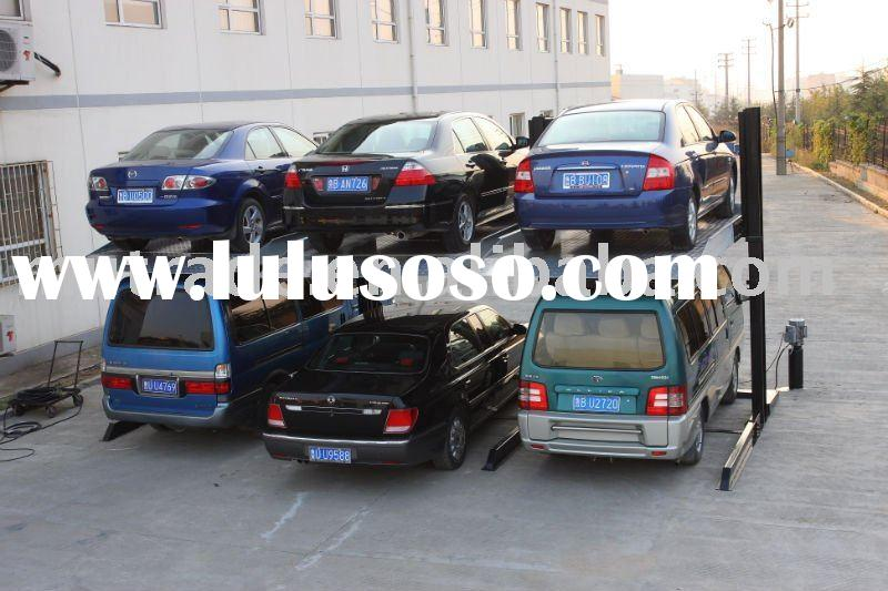 CE for home use two floors mechanical car parking lift