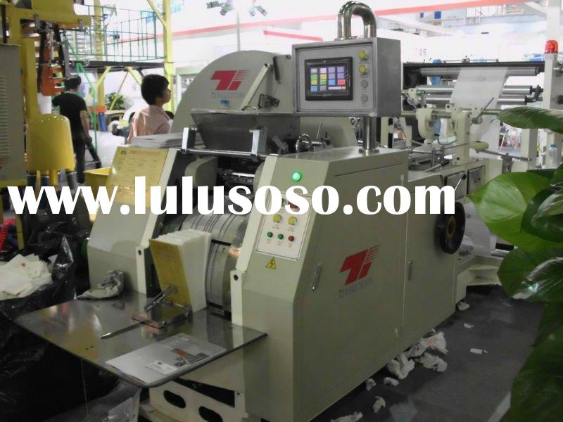 CY Automatic High speed food paper bag making machine