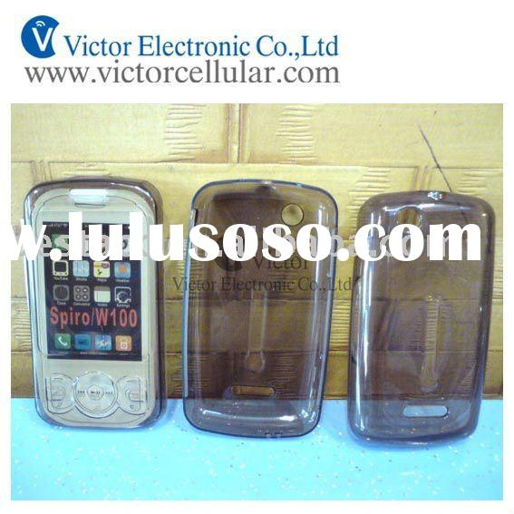 Cell Phone Clear Transparent Soft TPU Gel Case For Sony Ericsson Spiro W100