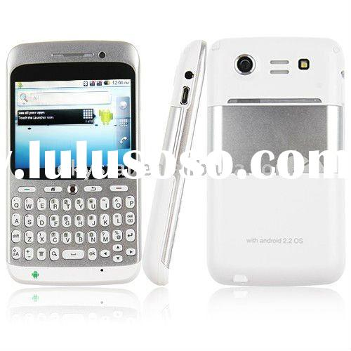 Cheap A8 Unlocked Dual Sim QWERTY Android 2.2 GPS WiFi TV smart phone