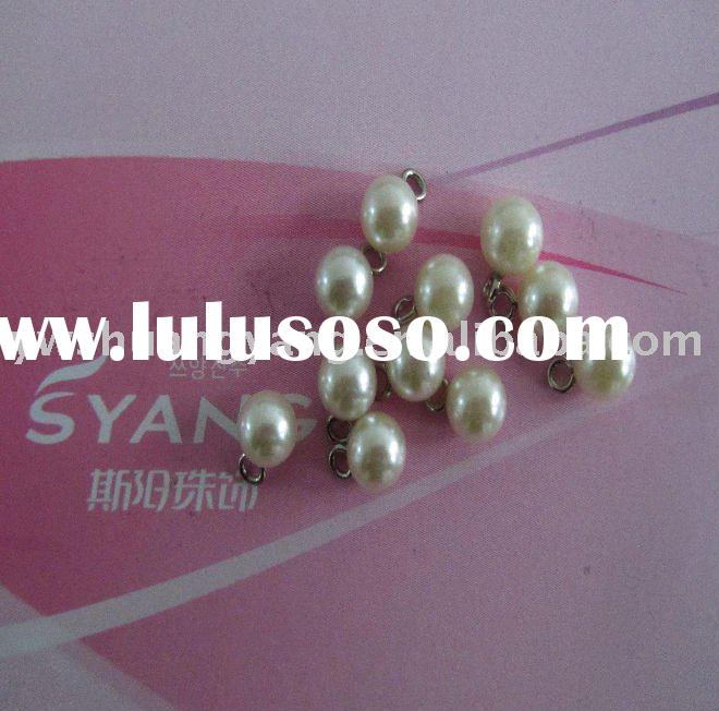 China plastic pearl charms,Round abs beads for decoration