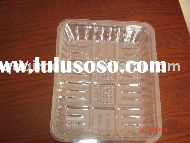 Disposable PET Blister Transparent Clear Clamshell Fruit Container