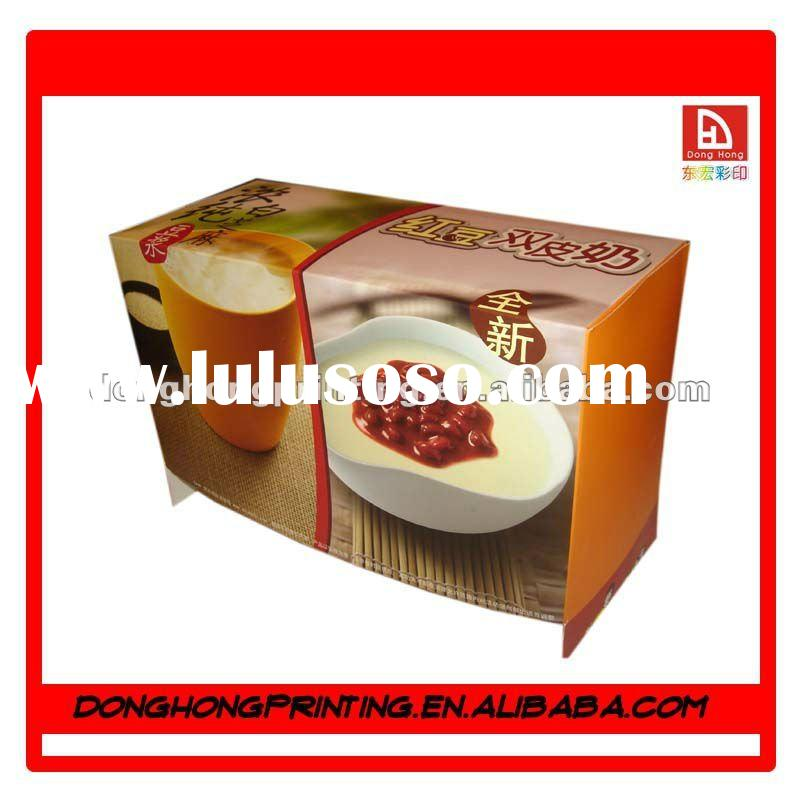Eco-friendly 350g Art Paper Food Packaging for advertising