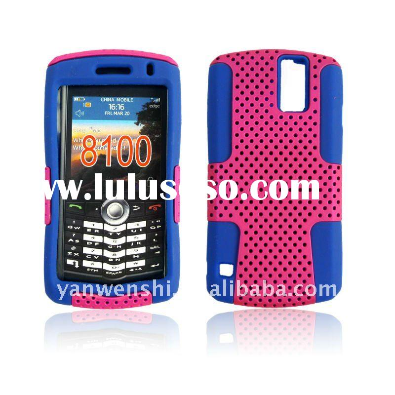 For Blackberry 8100 Mesh Hybrid cell phone case