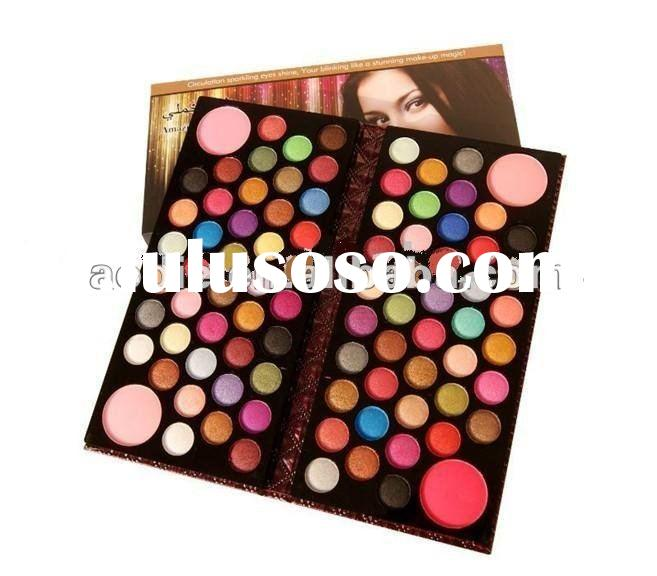 HOT 22colors baked shimmer eyeshadow palette with 2 blushers