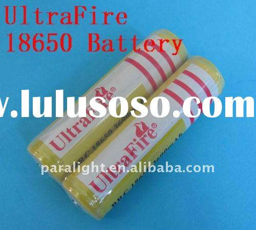 High Capacity 3600 mAh 18650 Rechargeable Battery