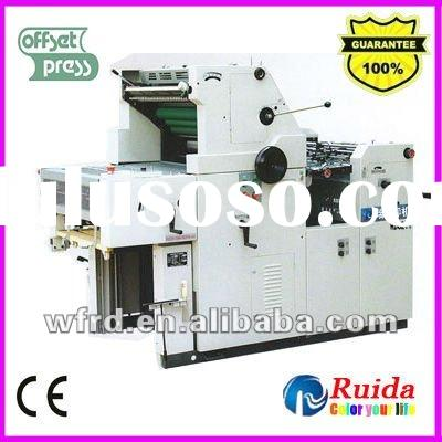 Hot!!! RD62II Single color automatic new flatbed offset printing machine