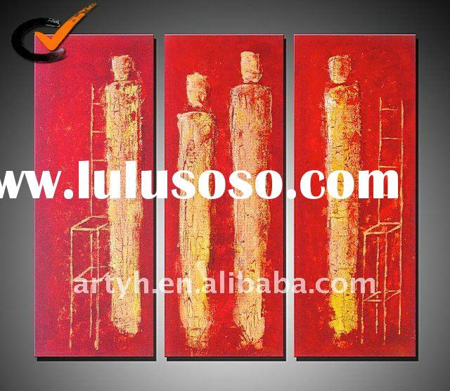 Hot Sell Handmade Modern Abstract Canvas Oil Painting Gift