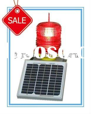 LED solar panel navigation buoy use obstruction flashing light NPT-TGZ-120
