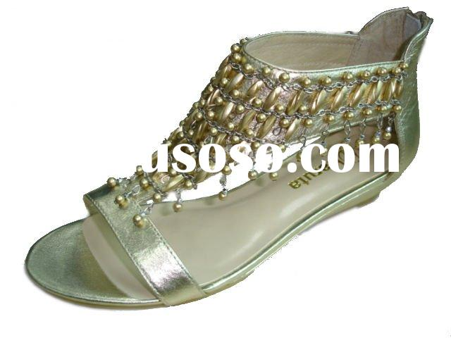 Ladies Beaded Sandals
