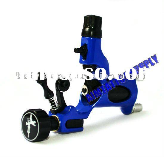 New Blue rotary tattoo gun machine adjustable dragonfly machine