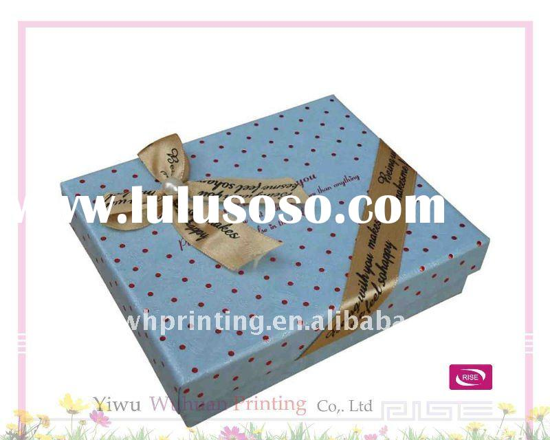 New Design Paper Delicate Jewelry Packaging Box