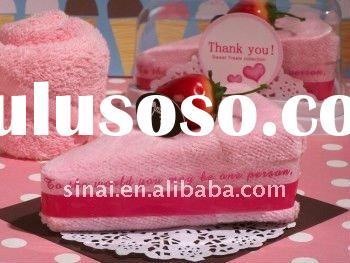 Sweet Treats Collection Cheesecake Strawberry Towel Favor