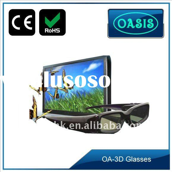 Universal 3d video glasses with wireless