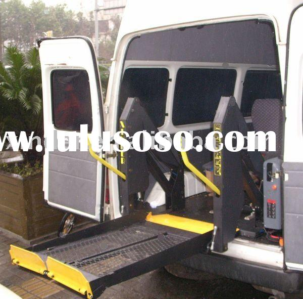 Hydraulic Wheelchair Lifts For Vans : Wl d u wheelchair lift for van and minibus sale