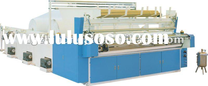 ZF-III-F 1760 Type Full Automatic Small Toilet Paper Making Machine