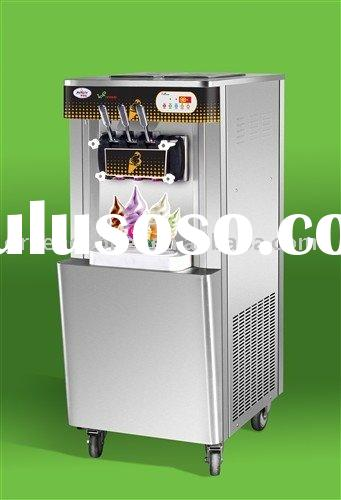 counter top rainbow soft serve ice cream machine(Hot Sales)