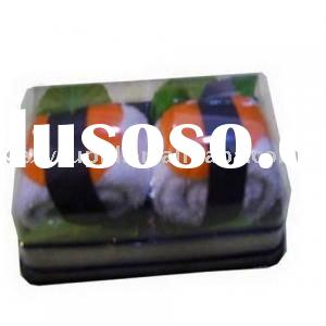 delicious nice looking sushi towel cake