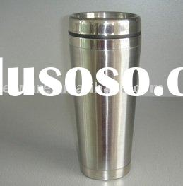 double wall stainless steel coffee tumbler