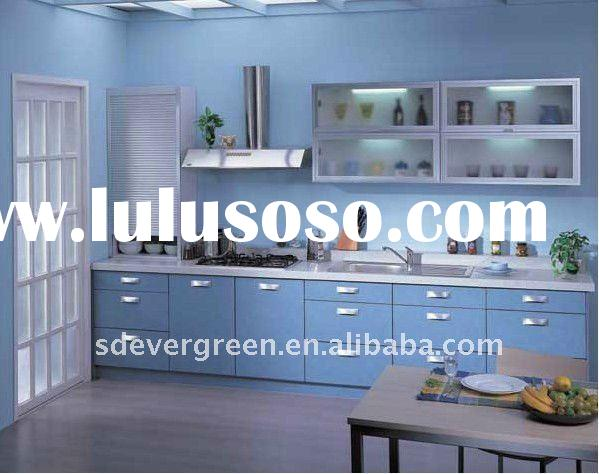 Classic style pvc modular kitchen units for sale price for Aluminum kitchen cabinets in the philippines