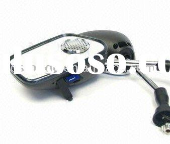 motorcycle rearview mirror mp3