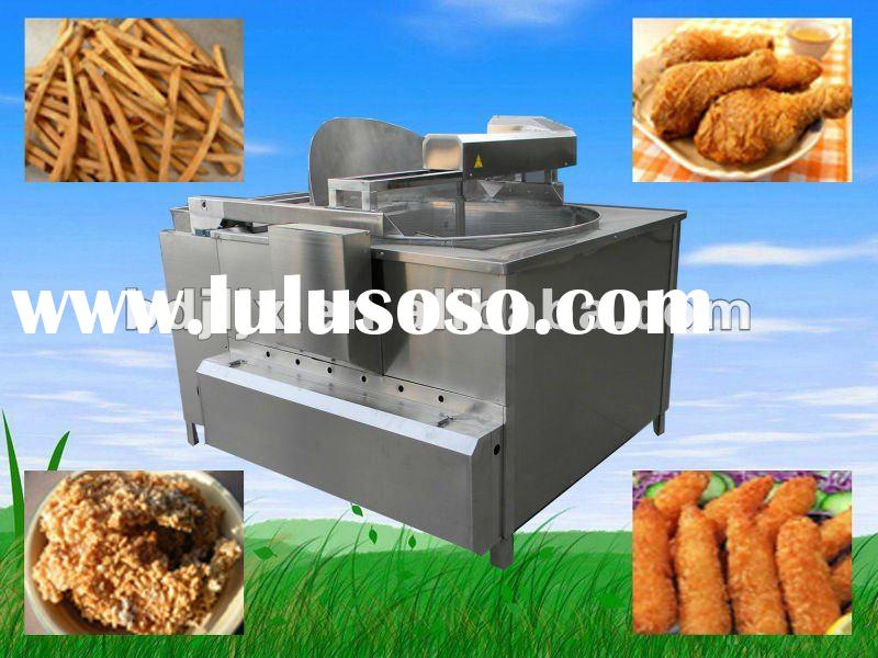 potato french fries gas deep fryer machine