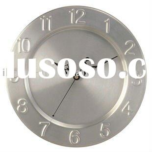 10 inch wall clock for decorative (IH-6696)