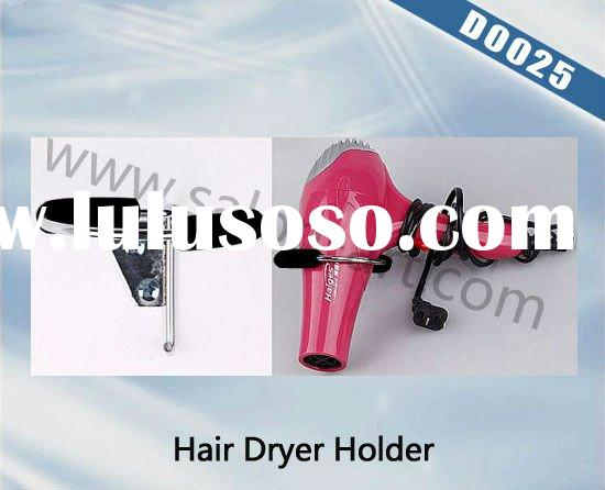 1x sprial wall mounted hair dryer holder for salon and home use d0025