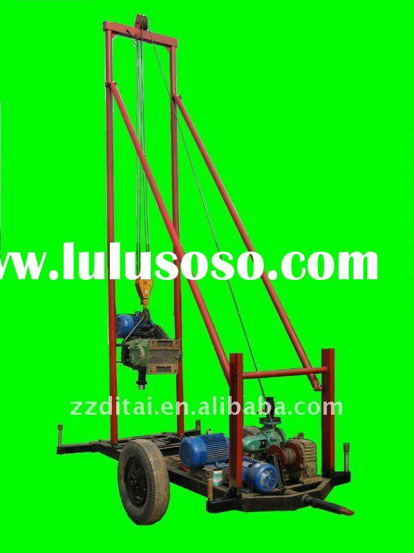 2012 hot selling most tractor-mounted water well drilling