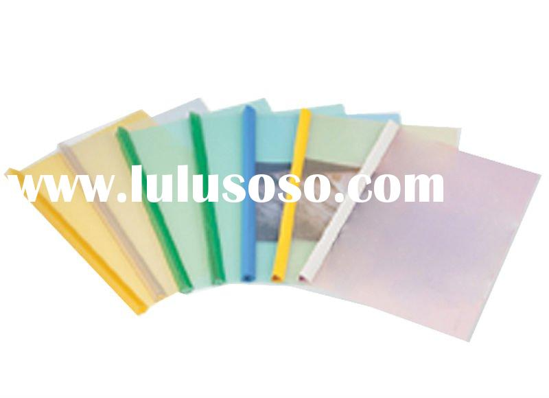 2012 the newest style Office and School Stationery slide bar report cover