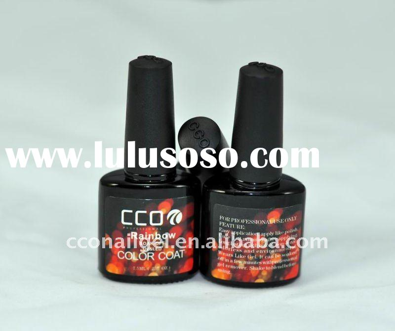 7.5ml Rainbow led&uv nail glue (one step gel)