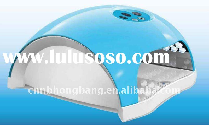 CE approved 10W newest fashionable LED nail gel curing UV lamp