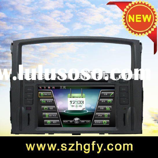 Car Audio for mitsubishi pajero with DVD Player GPS Navigation