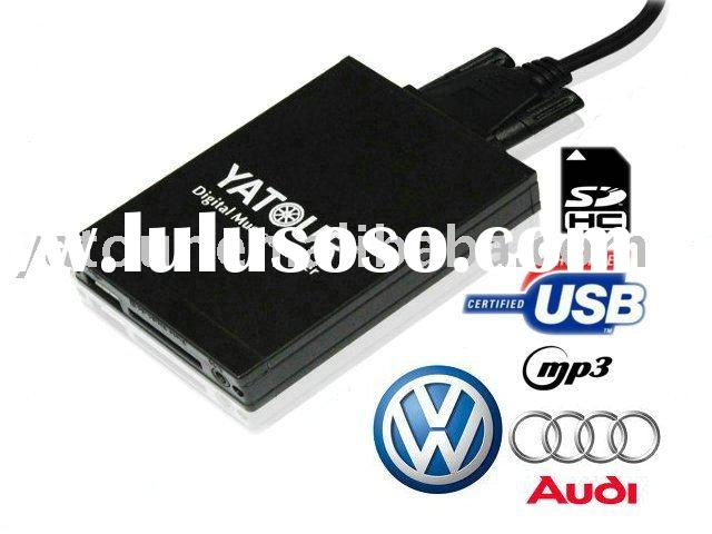 Car USB SD adapter Mp3 interface for vw audi skoda seat MFD2 RCD300 RCD510 Concert 3