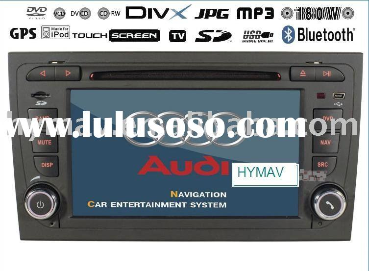 Double din car dvd & gps digital panel FOR AUDI A4