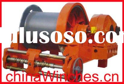 Electric Marine Mooring Anchor Scraper Winch with Lebus Grooved Drum