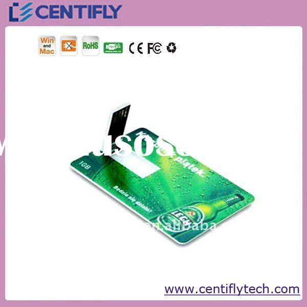 Hot sale Credit card USB stick for Gift in 2012