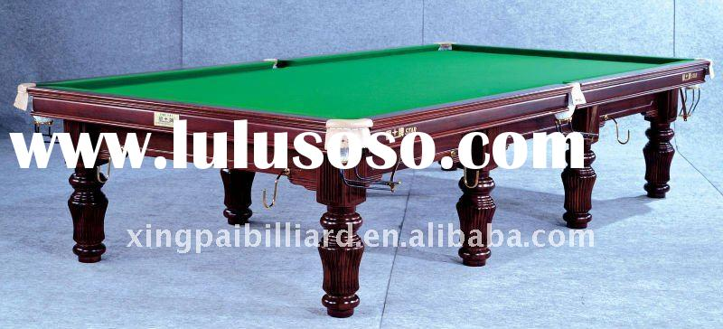 Hot sell 12ft high quality snooker table