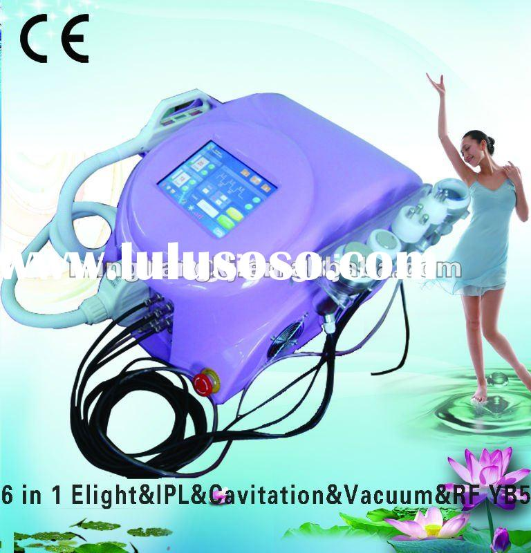 Hot selling 6 in 1 needle free mesotherapy beauty machine