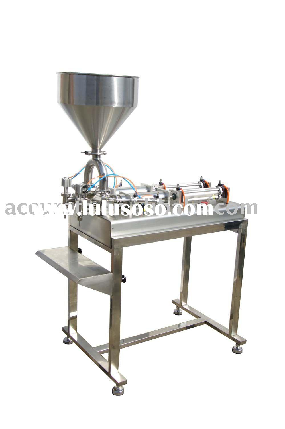 Pneumatic Paste/Liquid Filling Machine With Table