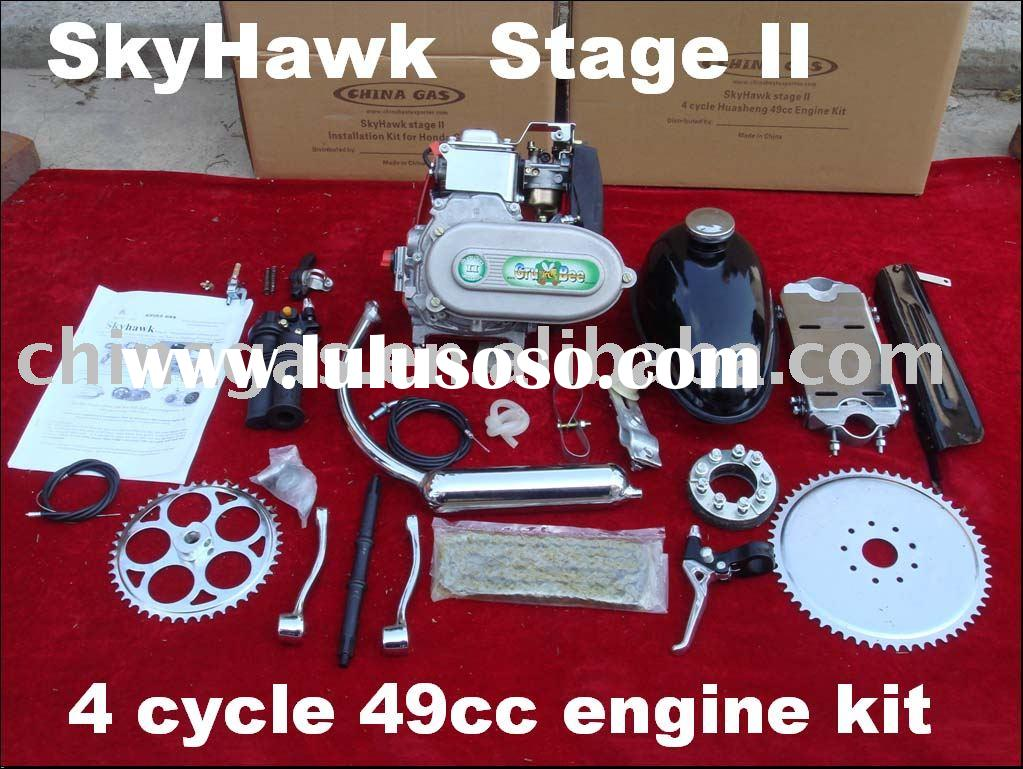 SkyHawk Stage II 4 cycle bicycle engine kits
