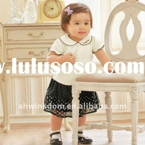 baby summer new and hot cotton one-piece dress