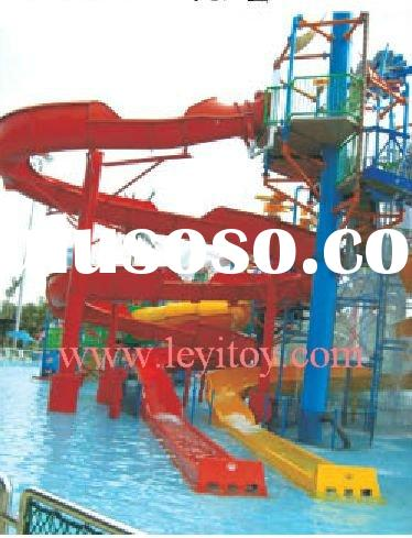 commercial water park slides A-06807