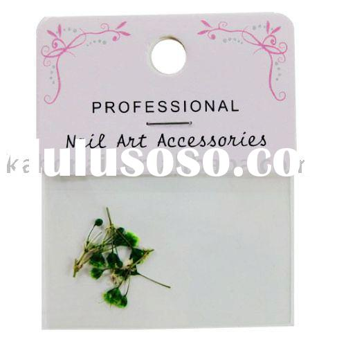 dry-flower nail accessories