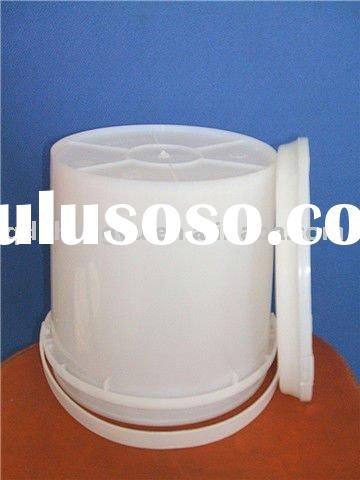 food grade plastic paint buckets with lid and handle 10L SGS pass