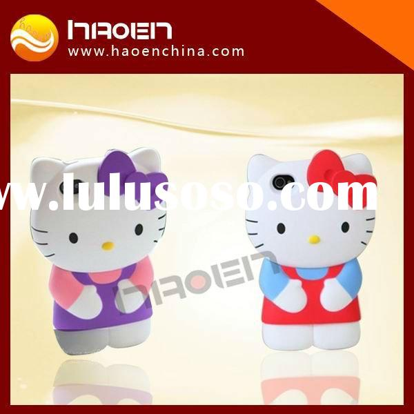 hello kitty hard cover case for iphone4,mobile phone accessories